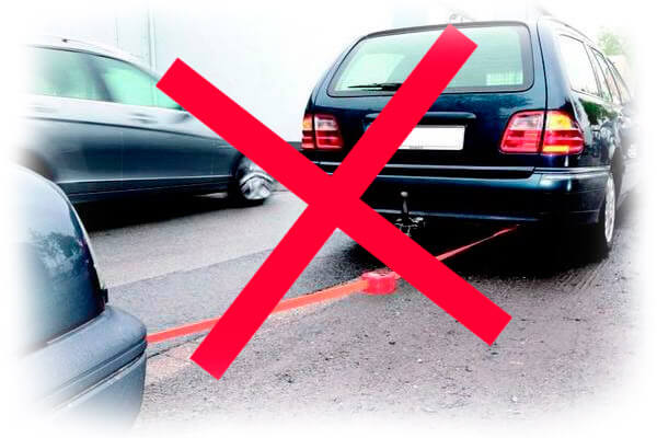 Буксировка авто с неисправной АКПП